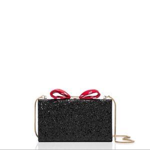 🖤 Kate Spade New York Disney Black Glitter Clutch
